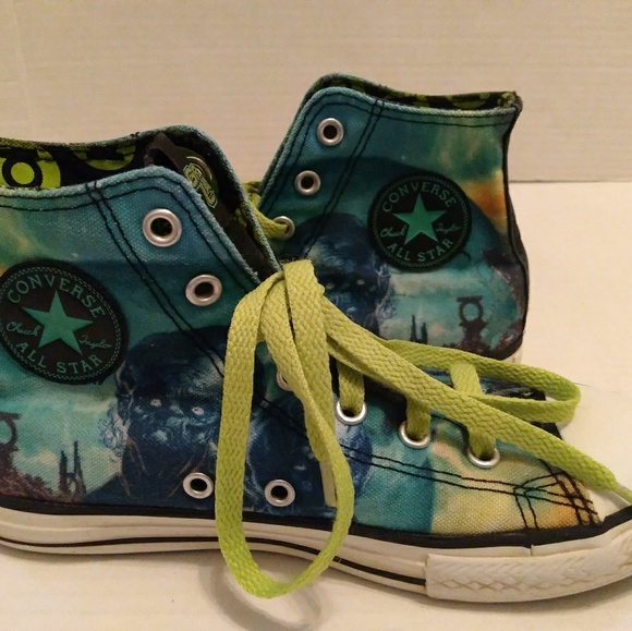 a644c81782af Converse Other - Converse Chuck Taylor Green Lantern Sneaker Kids 3